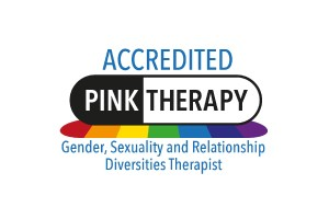 accredited member of pink therapy