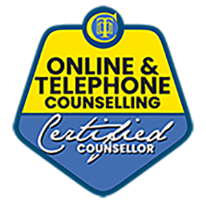 online and telephone counselling certified
